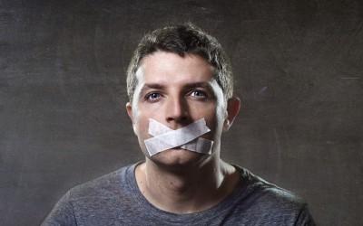 tavshed er ikke guld på facebbok